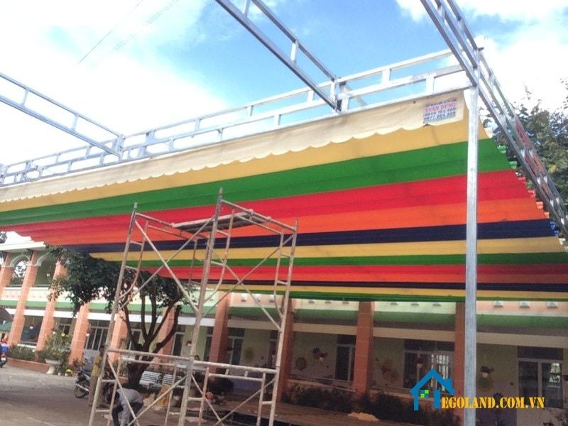 Những sản phẩm mái xếp di động tại Hà Nội và các tỉnh lân cận