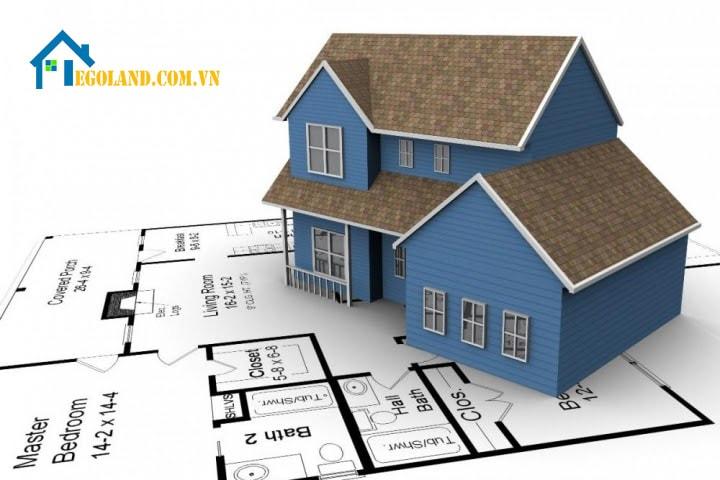 Mật độ cho việc xây dựng cho nhà ở được quy định tối đa phụ thuộc vào diện tích xây dựng