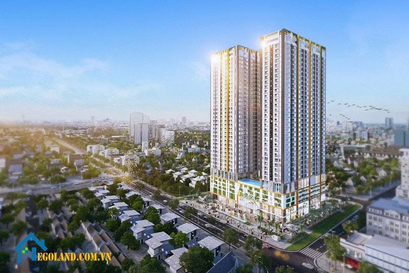 Mật độ xây đối với tổ hợp công trình gồm đế và tháp sẽ được áp dụng riêng đối với phần đế và phần tháp