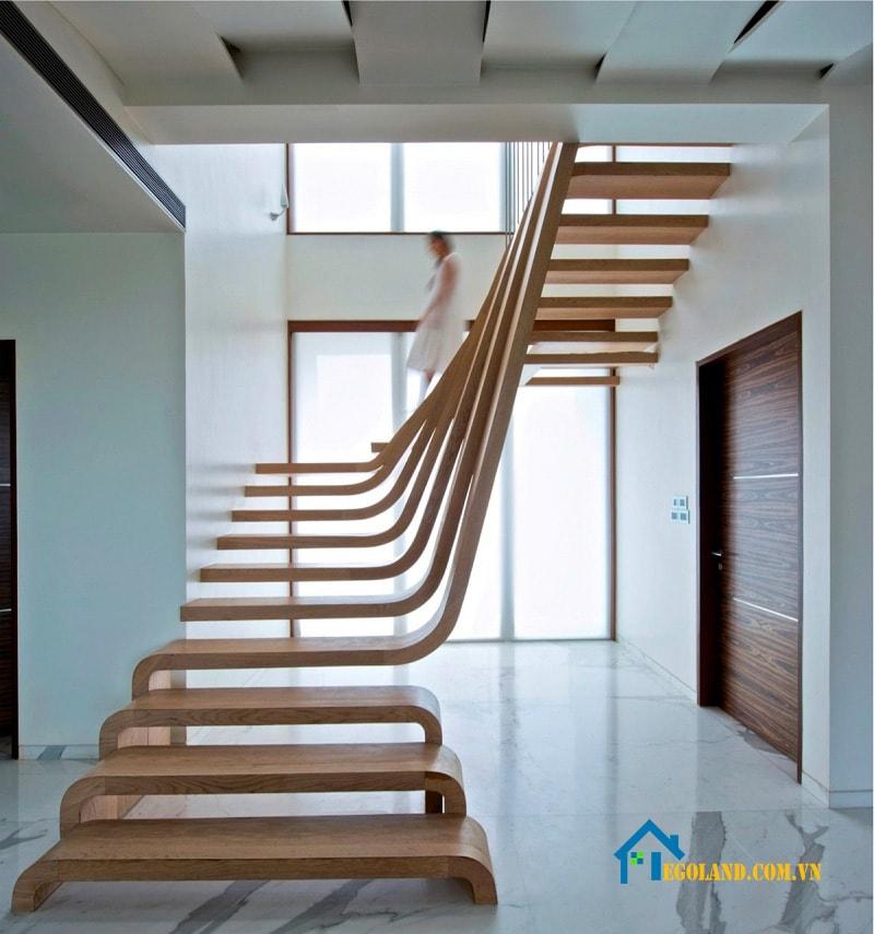 Mẫu cầu thang mới và hiện đại