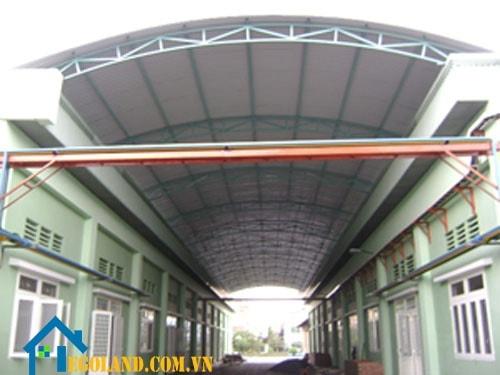 Mẫu mái vòm đẹp cho các dãy nhà trọ , công ty