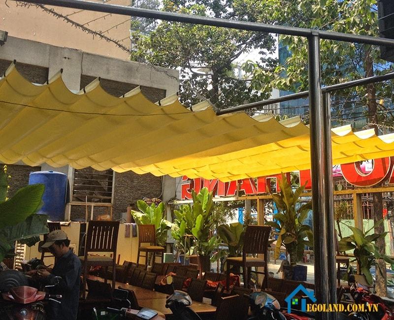 Thi công lắp đặt mái xếp lượn sóng tại Hà Nội