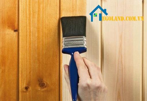 Sơn NC được đánh giá cao về chất lượng khi sơn đồ nội thất bằng gỗ