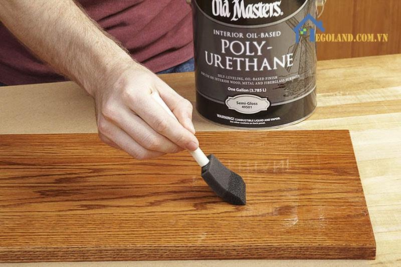 Sơn PU được biết đến là loại sơn tốt nhất được ứng dụng cho các sản phẩm bằng gỗ