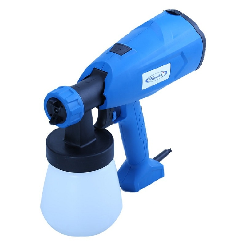 Thiết kế cầm tay linh hoạt, sử dụng tuabin tạo gió thay bằng bình áp suất khí nén