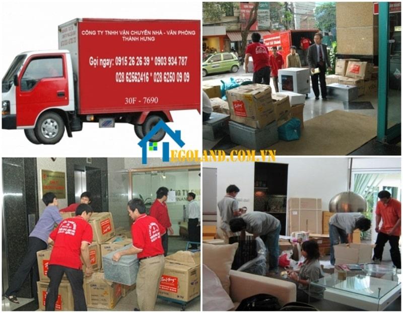 Dịch vụ chuyển nhà trọn gói tại Tphcm của Thành Hưng