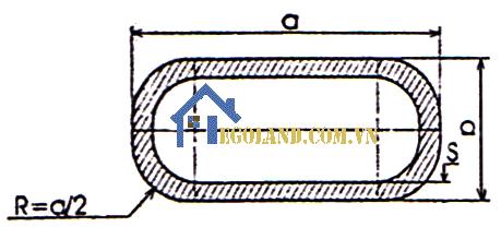 Công thức tính trọng lượng thép hộp Oval