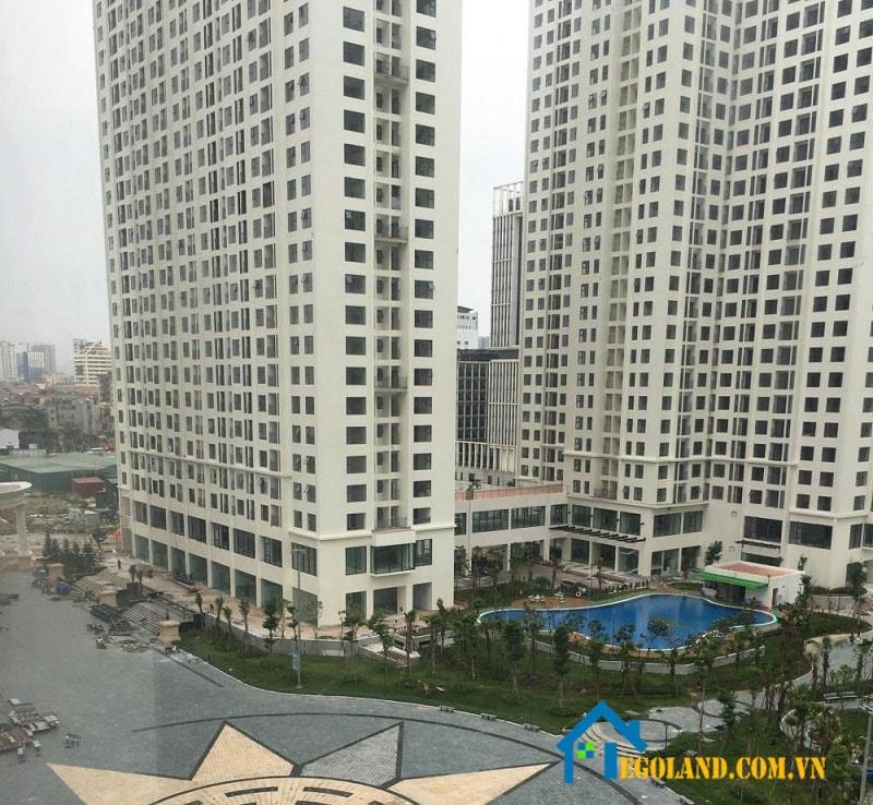 An Bình City nằm trong quần thể của dự án thành phố Giao Lưu