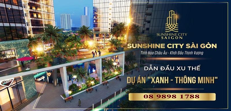 Banner dự án Shunshine city tại Sài Gòn