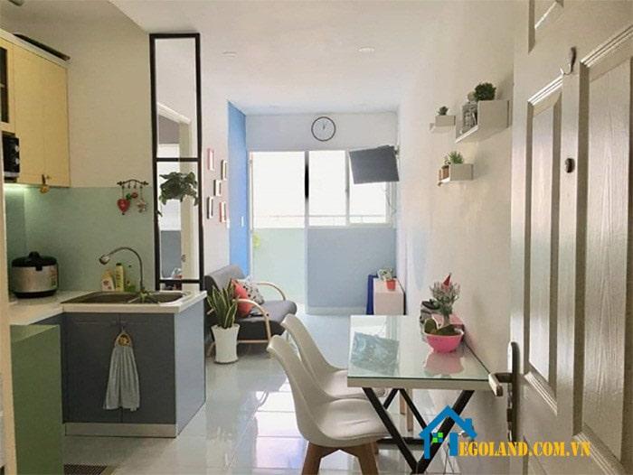 Các căn hộ tại chung cư Lê Thành Tân Tạo mang thiết kế hiện đại nhưng lại đơn giản