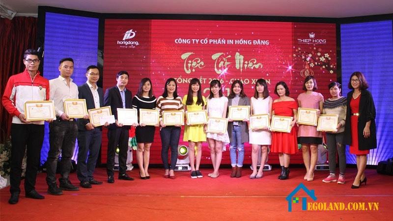 Công ty Cổ phần in Hồng Đăng được thành lập từ năm 2009