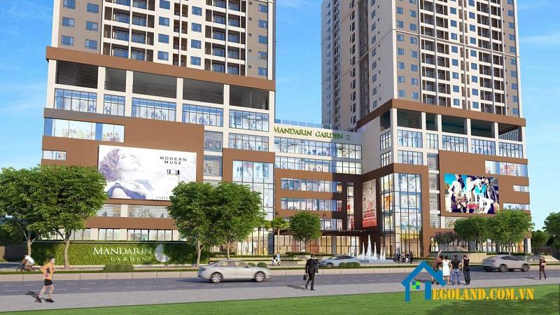 Dự án chung cư Mandarin Garden 2 đặt tại số 493 Trương Định, Phường Tân Mai, Hoàng Mai, Hà Nội