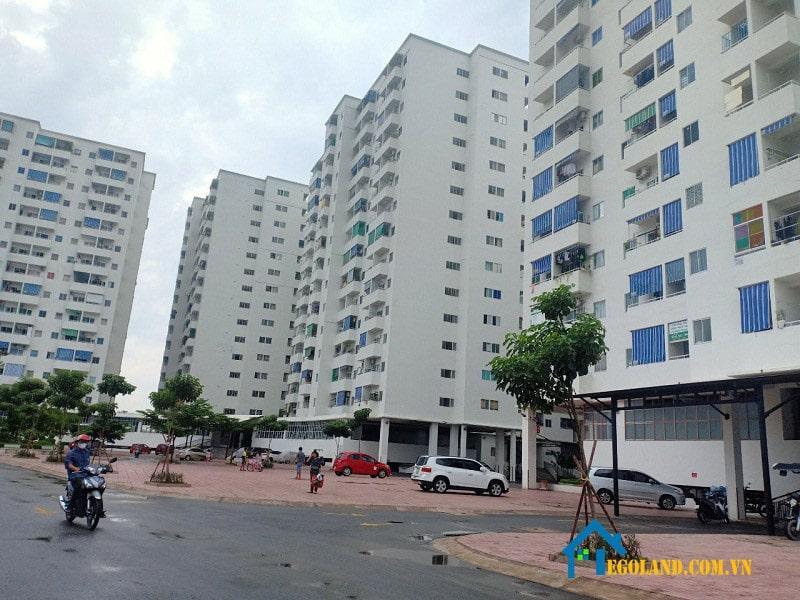 Dự án này nằm trong chuỗi các chung cư giá rẻ được Tân Thành xây dựng
