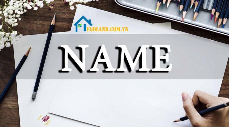 First Name, Last Name, Middle Name là những thành phần cấu tạo nên tên đầy đủ của mỗi người