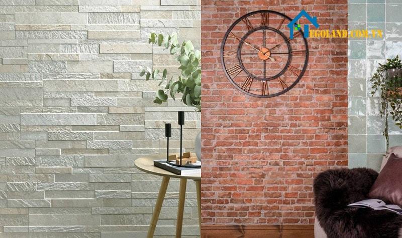 Gạch thẻ ốp tường là loại gạch ốp lát được sản xuất nhằm trang trí và bảo vệ bề mặt của tường gạch