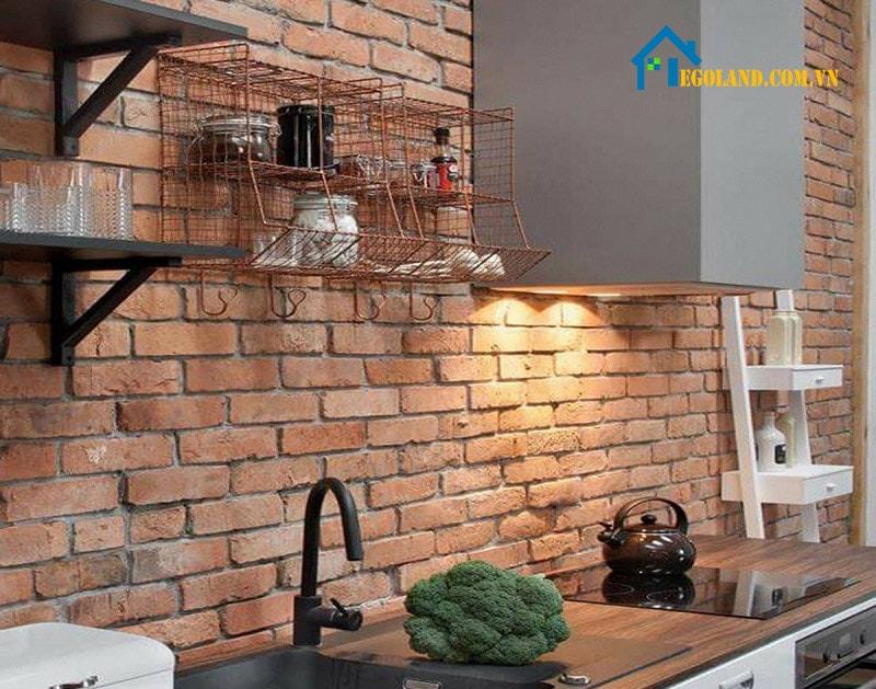 Gạch thẻ ốp tường là loại nguyên liệu được dùng phổ biến cho trang trí tường