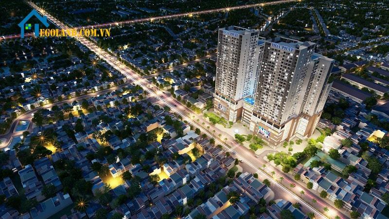 Giá thuê, mua căn hộ chung cư Mandarin Garden 2 cũng giảm đáng kể