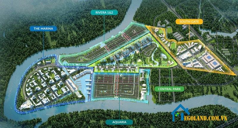 Khu biệt thự dự án WaterPoint