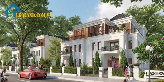 Khu biệt thự ven sông chính là một trong những loại hình nhà ở chính của dự án Vinhomes Grand Park