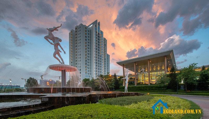 Khu đô thị , biệt thự nghỉ dưỡng Ciputra là công trình đô thị mới đầu tiên tại Hà Nội