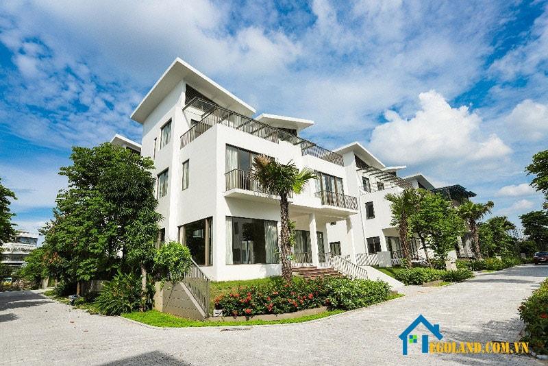 Kiến trúc của biệt thự nghỉ dưỡng Khai Sơn mang phong cách hiện đại, trẻ trung