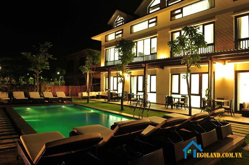 Kosmos Villa Phú Quốc được tích hợp đầy đủ dịch vụ