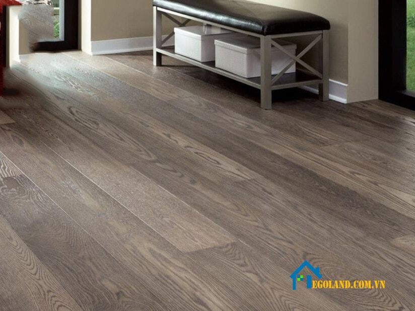 Sàn gỗ công nghiệp không được đánh giá cao về khả năng chịu nước