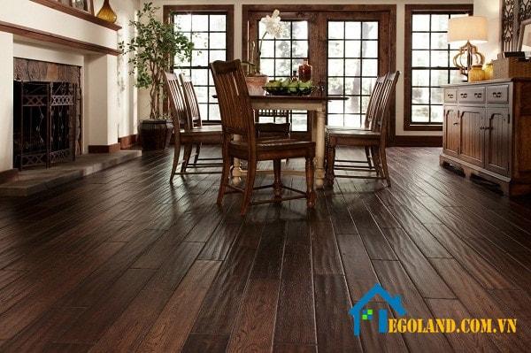 Sàn gỗ tự nhiên được rất nhiều người dùng yêu thích và lựa chọn