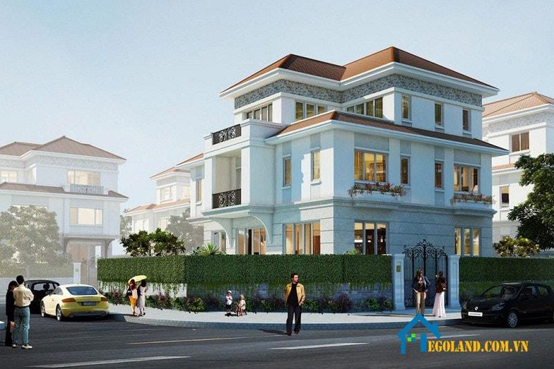 Saroma Sala Villas là khu biệt thự thuộc dự án khu đô thị Sala có quy mô 15ha