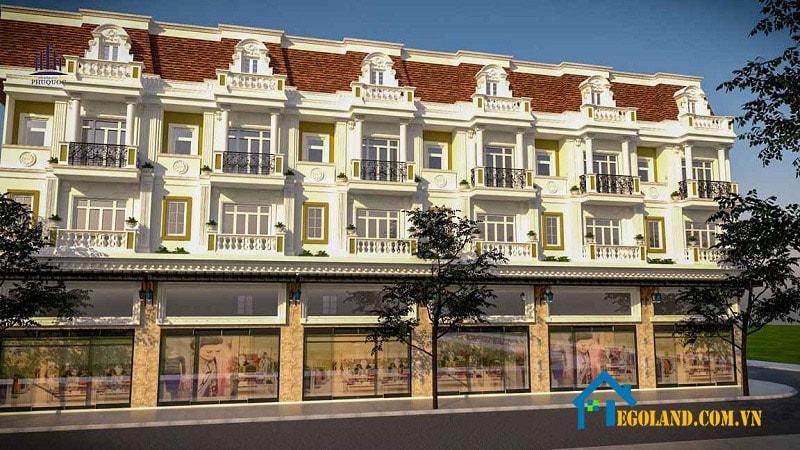 Shophouse Mercury Quý Hải Phú Quốc là một trong những phần thuộc dự án khu sinh thái Mercury Resort & Villa