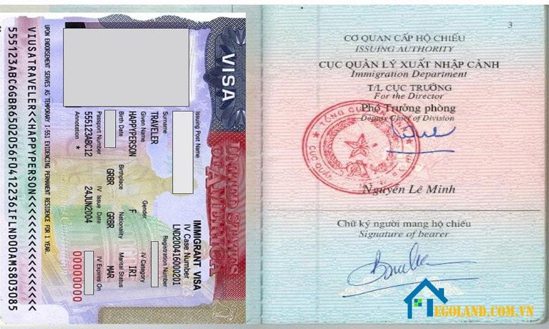 Thị thực và hộ chiếu là hai loại giấy tờ khác nhau