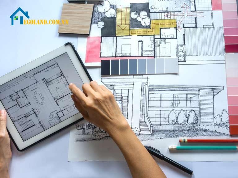 Thiết kế nội thất chú trọng cả kỹ thuật, tính thẩm mỹ và công năng sử dụng của căn phòng