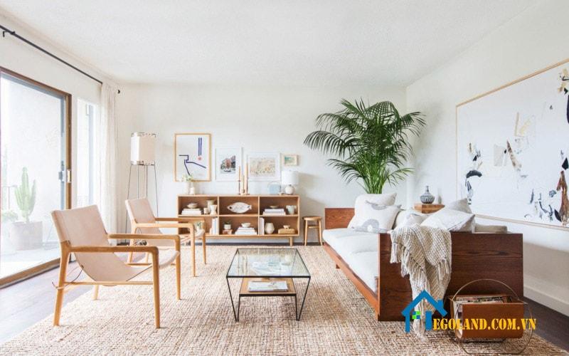 Trang trí nội thất chỉ cần chú trọng tới yếu tố thẩm mỹ cho không gian
