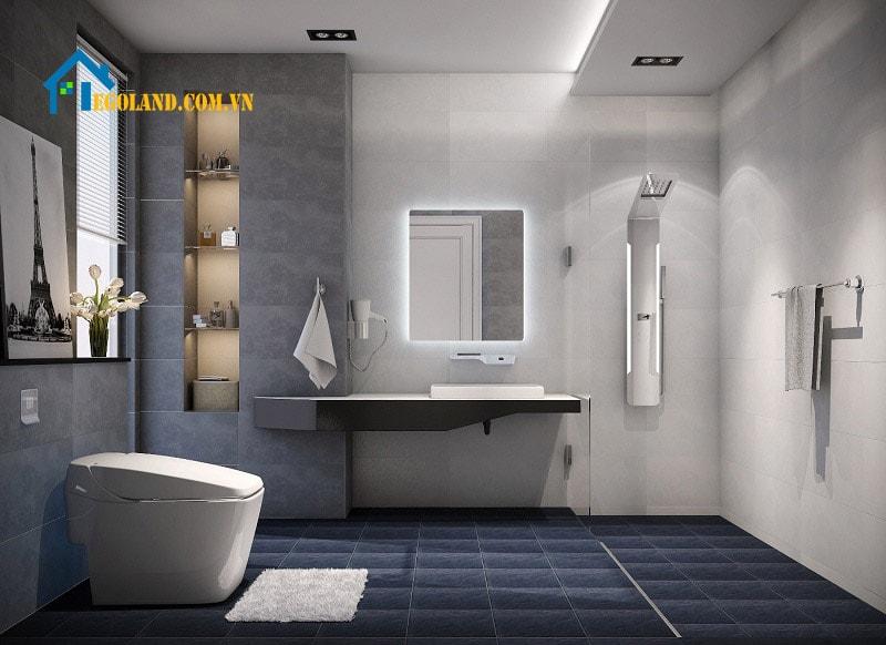 20 mẫu thiết kế nhà vệ sinh đẹp và hợp thời đại mới nhất