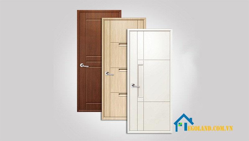 Các vân cửa khiến cho dòng cửa nhựa giả gỗ thêm tinh tế hơn