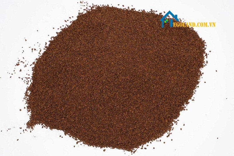 Cát Mangan là một trong những loại quặng có trọng lượng nhẹ