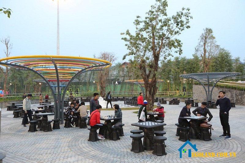 Công viên cờ vua Vinhome smart city