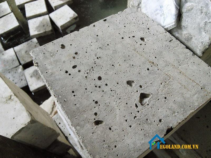 Cường độ chịu nén của bê tông chính là ứng suất nén phá hủy của chính tảng bê tông đó