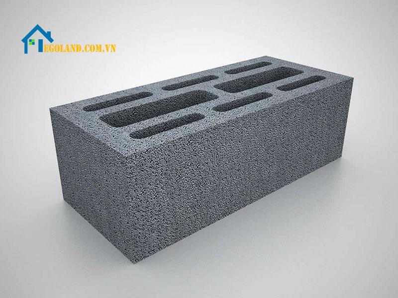 Gạch không nung Block được sử dụng khá rộng rãi trong các công trình xây dựng
