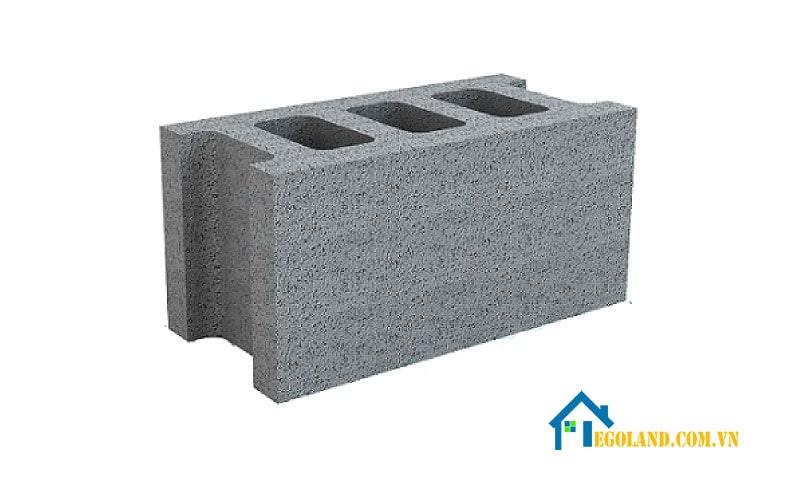 Gạch block là loại gạch được chế tạo từ xi măng và các nguyên vật liệu phụ gia
