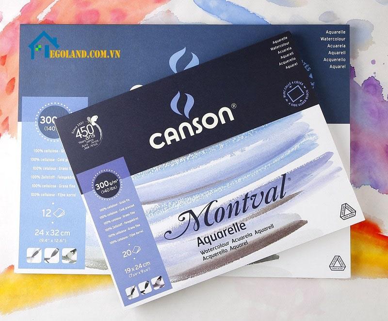 Giấy Montval này là loại giấy cực kì dễ tính có thể cho người dùng sử dụng được áp dụng rất nhiều kỹ thuật pha màu phức tạp