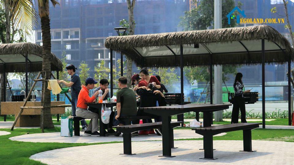Khu nướng BBQ Vinhome Smart City