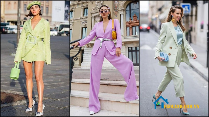 Một số nguyên tắc cần biết khi phối quần áo dựa trên gam Pastel