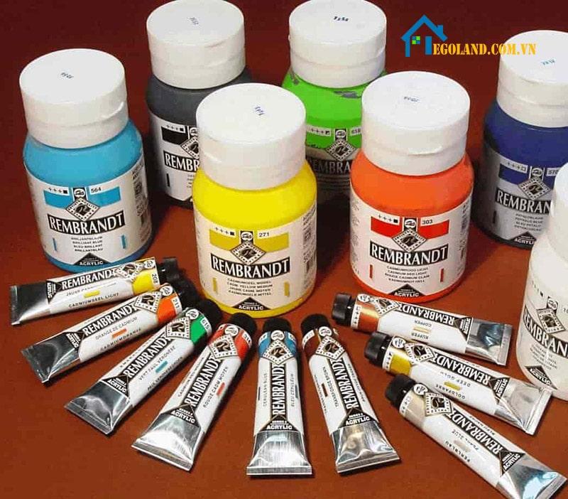 Người dùng cần lựa chọn loại màu phù hợp với nhu cầu của mình