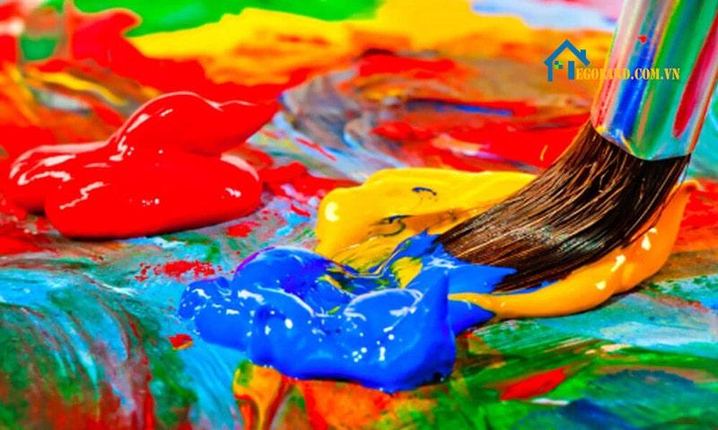 Người dùng cần lưu ý một số vấn đề khi sử dụng màu acrylic
