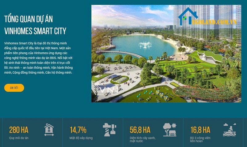 Chung cư vinhome smart city