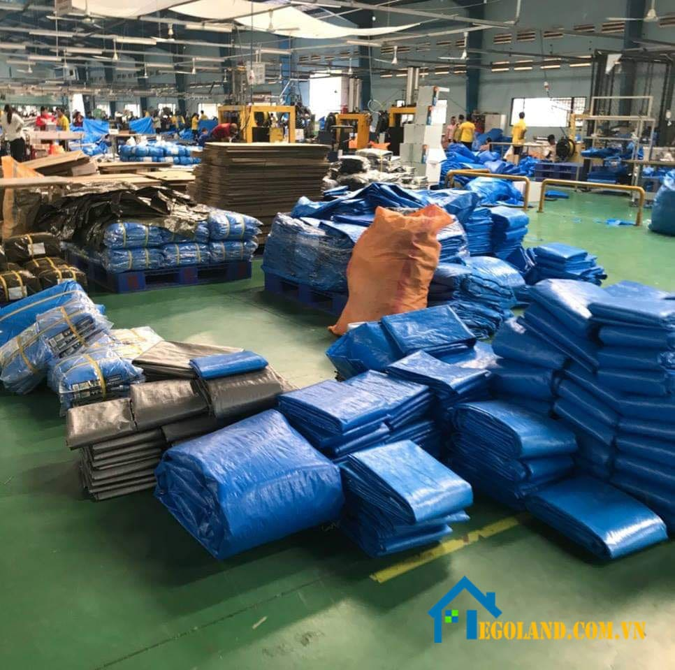 Bạt nhựa PVC Tarpaulin là một minh chứng rõ ràng nhất cho một chất liệu giá rẻ, chống nước tuyệt vời nhất