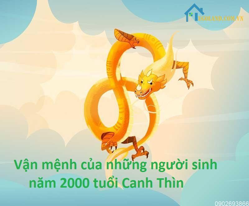 Vận mệnh của những người sinh năm 2000 tuổi Canh Thìn