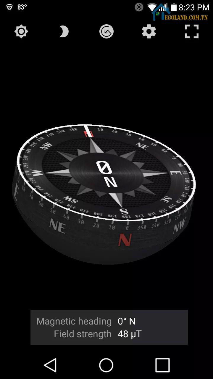 Compass Steel 3D - La bàn tốt nhất khi đi trên biển