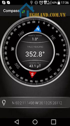 Compass - Ứng dụng la bàn cơ bản